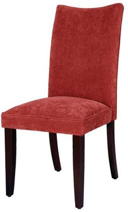 Standard Furniture 19984 La Jolla Series Contemporary Fabric Wood Frame Dining Room Chair