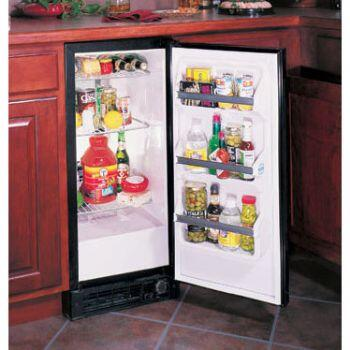 "Marvel 30ARML 15"" 2.90 cu. ft.Built In All-Refrigerator 3 Slide-Out Chrome-Plated Wire Shelves, 3 Door Shelves, Auto Defrost, Interior Lighting & Left Hinge Door Opening"