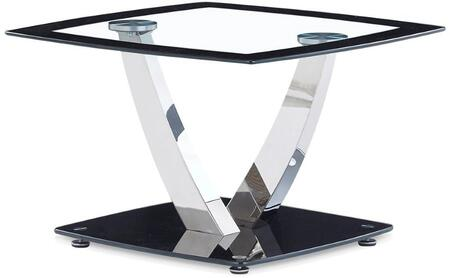 Global Furniture USA T716E Modern Square End Table