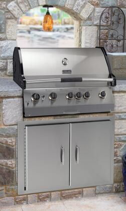 Vermont Castings VCS523SSBIP Built In Grill, in Stainless Steel