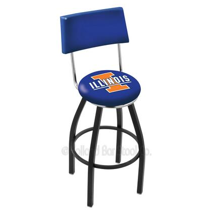 Holland Bar Stool L8B430ILLINIU Residential Vinyl Upholstered Bar Stool