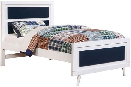 Furniture of America CM7850BLFBED Alivia Series  Full Size Platform Bed