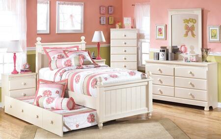 Milo Italia BR303FPSBTDMC Burton Full Bedroom Sets