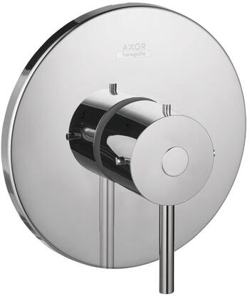 Picture of 10407001 Axor Starck Series ADA Compliant Pressure Balance Faucet Trim  with 55 GPM Flow and Temperature with OnOff Control for One Outlet  in