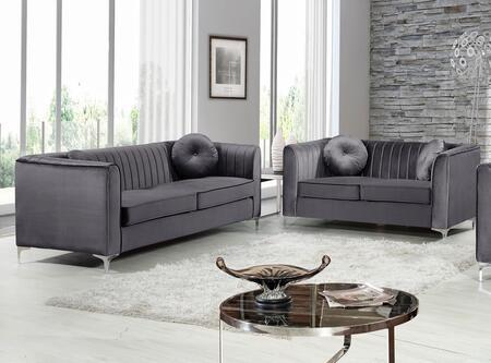 Meridian 6122PCSTLKIT2 Isabelle Living Room Sets