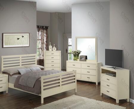 Glory Furniture G1290CQB2CHDMTV G1290 Queen Bedroom Sets