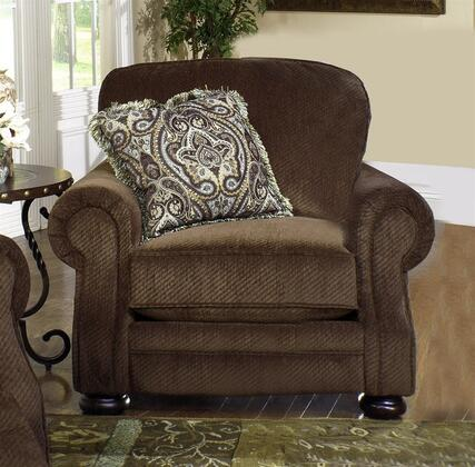 Jackson Furniture 438801 Fabric Armchair with Wood/Steel Frame in Espresso