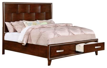 Furniture of America CM7616QBED Safire Series  Queen Size Bed