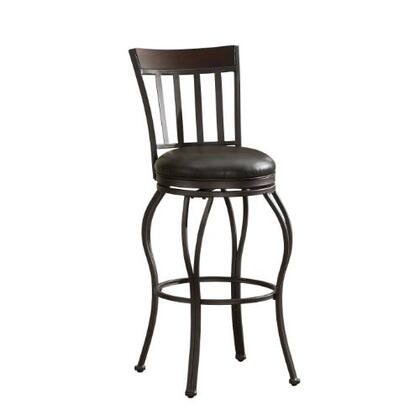 American Heritage 111120 Residential Bonded Leather Upholstered Bar Stool