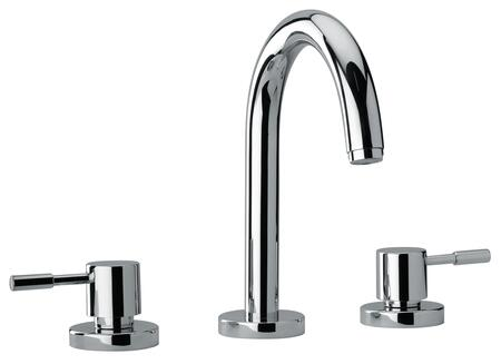 Jewel Faucets 16102XX Two Lever Handle Roman Tub Faucet With Goose Neck Spout