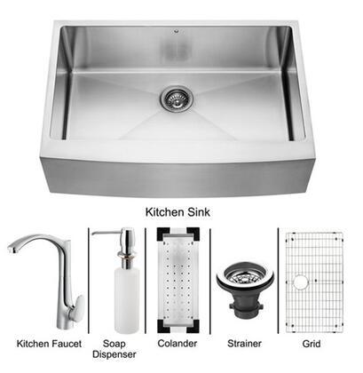 Vigo VG15085 Kitchen Combo Sink