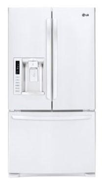LG LFX28979SW  French Door Refrigerator with 27.6 cu. ft. Capacity in White