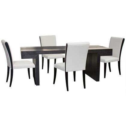 Diamond Sofa D0730990T5PC Urban Dining Room Sets
