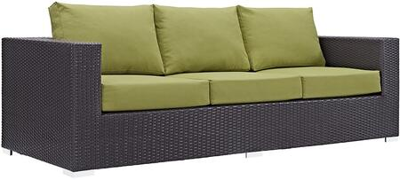 Modway EEI1844EXPPER Espresso Finish Patio Sofa