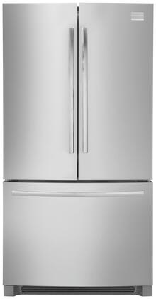 """Frigidaire Professional FPHG2399PF Freestanding French Door 22.5 cu. ft. Yes 35.875"""" French Door Refrigerator 
