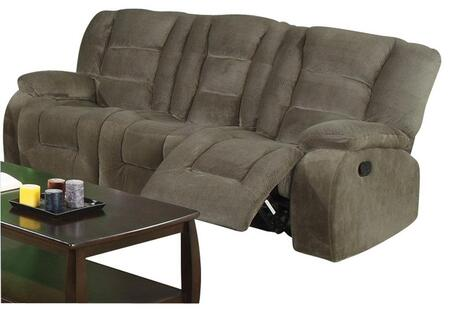 Coaster 600991 Charlie Series Reclining Fabric Sofa