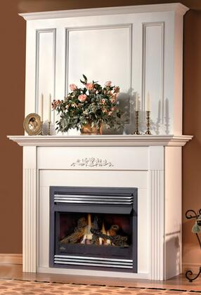 Napoleon WRPCXA Corner Raised Panel Upper Wall Kit for Small Mantels: