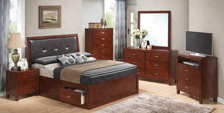 Glory Furniture G1200BQSBNTV G1200 Bedroom Sets