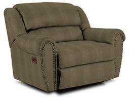Lane Furniture 21414401318 Summerlin Series Transitional Fabric Wood Frame  Recliners