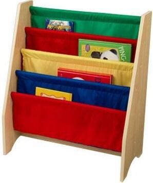 KidKraft 14226 Childrens Wood 4 Shelves Bookcase