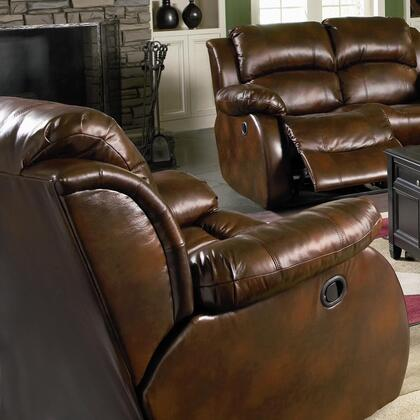 Coaster 600473 Morrell Series Casual Brown Wood Frame  Recliners