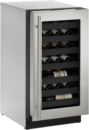 "U-Line U3018WCx 18"" Modular 3000 Series Built-In Wine Cooler with 31 Bottle Capacity, in"