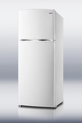 Summit FF1062W Freestanding Counter Depth Top Freezer Refrigerator with 9.4 cu. ft. Total Capacity 1 Glass Shelves  |Appliances Connection