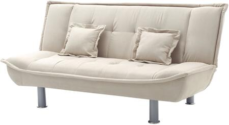 Glory Furniture G502S G500 Series Convertible Suede Sofa