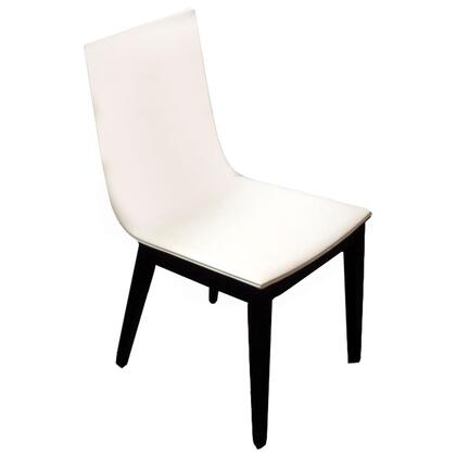 VIG Furniture VGWCEXTREME Modrest Extreme Series Modern Leatherette Wood Frame Dining Room Chair