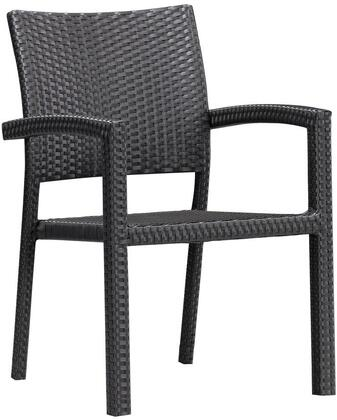 Zuo 701021 Boracay Series Modern Metal Frame Dining Room Chair