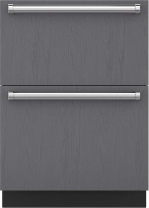 """Sub-Zero ID24Rx 24"""" Drawer Refrigerator with 4 cu. ft. Capacity, Soft Close Drawers, LED Lighting, and Smart-Touch Controls, in Panel"""
