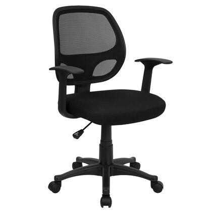 """Flash Furniture LFW118ABKGG 24"""" Contemporary Office Chair"""