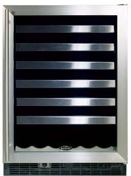 "Marvel 6SWCEBSGXR 23.875"" Built-In Wine Cooler"