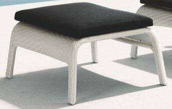 TOV Furniture TOV75OTTO  Patio Ottoman