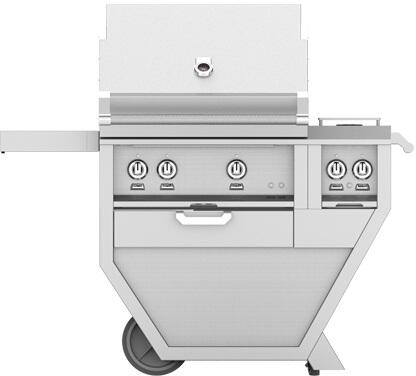 48 in. Deluxe Grill with Side Burner   Steeletto