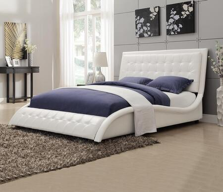 Coaster 300372Q Tully Series  Queen Size Panel Bed