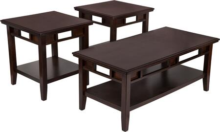 Logan 3 Piece Occasional Table Set