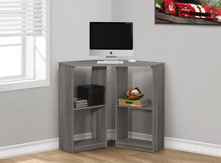 "Monarch I 712Y 36"" Computer Desk with Open Concept Shelves, Ample Surface Space and Modern Design"