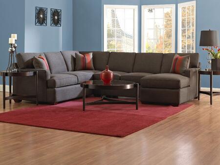 Klaussner LOOMISSEC  Stationary Fabric Sofa