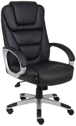 "Boss B860 45"" Executive Chair with Waterfall Seat Design, Upright Locking Position, Adjustable Tilt Tension, Seat Height Adjustment"