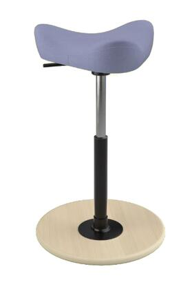 """Varier MOVE SMALL 2700 DINIMICA 26"""" - 34"""" Sit-Stand Chair with Dinimica Upholstery,"""