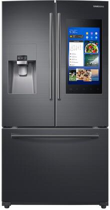 """Samsung RF265BEAES 36"""" French Door Refrigerator with Family Hub 2.0, 24.2 cu. ft. Capacity, FlexZone, Exernal Ice and Water Dispenser, and CoolSelect Pantry, in"""