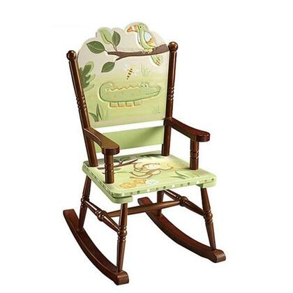 Guidecraft G85401 Papagayo Series Childrens Armless  Wood Frame Not Upholstered Rocking Chair