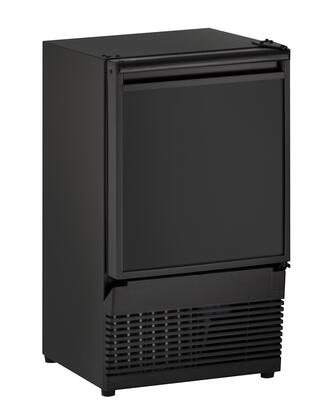 """U-Line U-BI95-00A 14"""" Ice Maker with Energy Efficiency, 23 lbs. of Daily Production, Field Reversible Door, Crescent Ice Shape and ADA Compliance"""