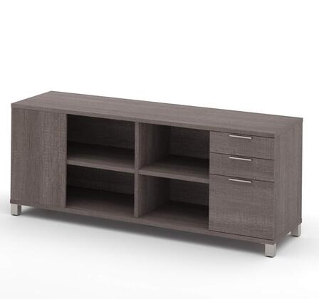 Bestar Furniture 120611 Pro-Linea Credenza with three drawers