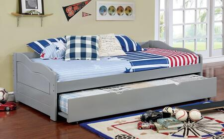 Furniture of America CM1737GYBED Sunset Series  Twin Size Daybed Bed