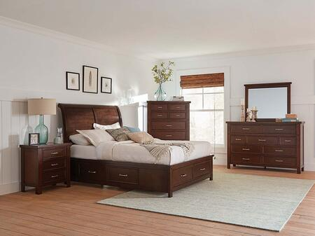 Coaster Barstow 5 Piece King Size Bedroom Set