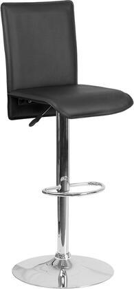 Flash Furniture CHTC31206BKGG Residential Vinyl Upholstered Bar Stool