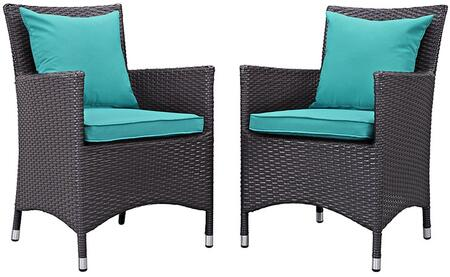 Modway EEI2188EXPTRQSET Rectangular Shape Patio Sets