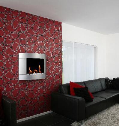 Bio-Blaze BBD2I Diamond Series Wall Mountable Vent Free Bioethanol Fireplace
